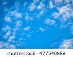 clouds. sky. blue sky and... | Shutterstock . vector #477540886