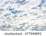 clouds. sky. blue sky and... | Shutterstock . vector #477540892