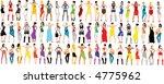 fashion girls. | Shutterstock .eps vector #4775962