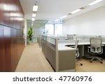 modern office interior | Shutterstock . vector #47760976