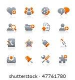 web blog   internet    graphite ... | Shutterstock .eps vector #47761780