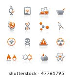 science web icons    graphite... | Shutterstock .eps vector #47761795