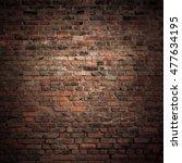old brick wall. grunge... | Shutterstock . vector #477634195