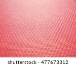 convex pattern red paper... | Shutterstock . vector #477673312