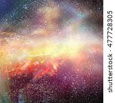 space background. cosmic sky.... | Shutterstock . vector #477728305