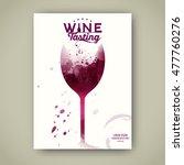 invitation template for event... | Shutterstock .eps vector #477760276