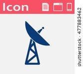 icon of dish antenna