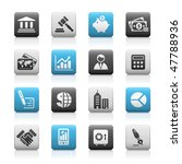 business   finance web icons    ... | Shutterstock .eps vector #47788936