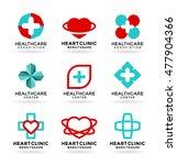medicine and healthcare.... | Shutterstock .eps vector #477904366