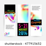 abstract template with... | Shutterstock .eps vector #477915652