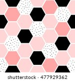 geometric seamless repeating... | Shutterstock .eps vector #477929362