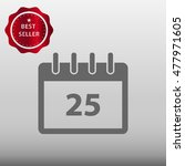 calendar vector icon...