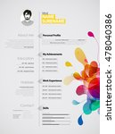 creative  color rich cv  ...