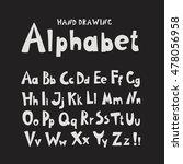 alphabet. individual hand... | Shutterstock .eps vector #478056958