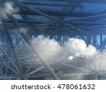 view of the sky and the... | Shutterstock . vector #478061632