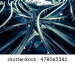 highway interstate interchange... | Shutterstock . vector #478065382