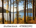 autumn on the banks of loch... | Shutterstock . vector #478082392