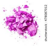 crushed purple eye shadow... | Shutterstock . vector #478087012