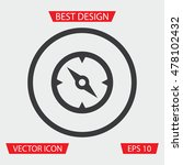 compass icon   Shutterstock .eps vector #478102432