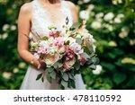 wedding flowers | Shutterstock . vector #478110592