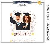 vector group of graduation... | Shutterstock .eps vector #478117522