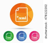 file document icon. download... | Shutterstock .eps vector #478122202