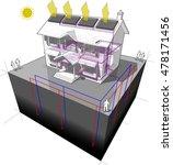 3d illustration of diagram of a ... | Shutterstock .eps vector #478171456