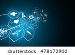 abstract medical pharmacy... | Shutterstock .eps vector #478172902