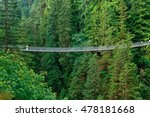 capilano suspension bridge in... | Shutterstock . vector #478181668