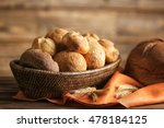 bread and lots of fresh bread... | Shutterstock . vector #478184125