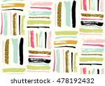 vector seamless pattern with...   Shutterstock .eps vector #478192432