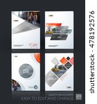 brochure template layout  cover ... | Shutterstock .eps vector #478192576
