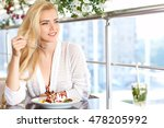 portrait of beautiful white... | Shutterstock . vector #478205992