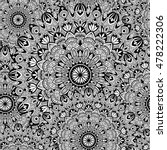 vector tribal vintage ethnic... | Shutterstock .eps vector #478222306