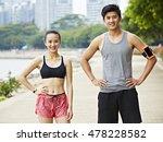 portrait of an asian couple... | Shutterstock . vector #478228582