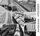 Railroad Collage