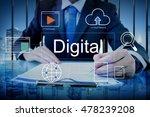 big data domain web page seo... | Shutterstock . vector #478239208
