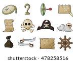 pirate ui elements