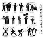 negative personalities... | Shutterstock .eps vector #478260748
