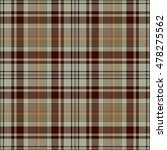set tartan seamless pattern.... | Shutterstock .eps vector #478275562