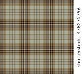 tartan seamless pattern. trendy ...   Shutterstock .eps vector #478275796