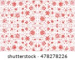 hand drawn abstract floral... | Shutterstock . vector #478278226