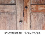 old vintage wood panel with... | Shutterstock . vector #478279786