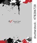 scratch  sketch grunge dirt...   Shutterstock .eps vector #478286728