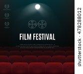 cinema  film festival vector... | Shutterstock .eps vector #478288012