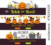 vector vertical banners with... | Shutterstock .eps vector #478293235