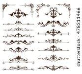 vector vintage design elements... | Shutterstock .eps vector #478311466