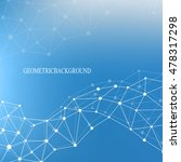 structure molecule atom dna and ... | Shutterstock .eps vector #478317298