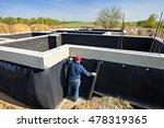 waterproofing foundation... | Shutterstock . vector #478319365