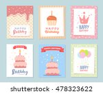 vector set of colorful... | Shutterstock .eps vector #478323622